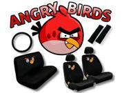 Angry Birds Seat Cover Set – 11pc Full Interior