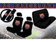 FC Barcelona Seat Cover Set – 11pc Full Interior