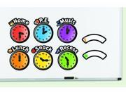 Learning Resources Magnetic Daily Schedule Clocks