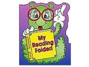 Scholastic Teaching Resources My Reading Plastic Coated Pocket Folder - 8.5 X 11 Inch