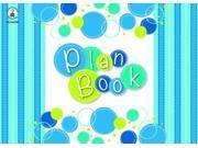 Bubbly Blues Plan Book