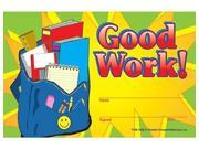 Teacher Created Resources Good Work Awards (1936)