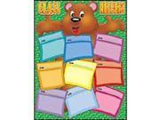 Scholastic Teacher's Friend Bear Theme Helper Chart