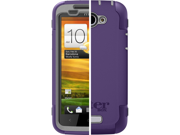 OtterBox Defender Case with Holster Belt Clip for HTC One X Orchid Purple and Gray In Retail Box 77-21742