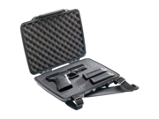 Pelican ProGear P1075 Pistol and Accessory HardBack Case Black