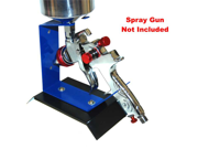Benchtop GRAVITY FEED SPRAY GUN HOLDER-STAND Auto Paint