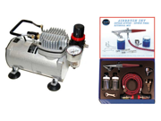 PAASCHE H Single-Action AIRBRUSH SET-AIR COMPRESSOR