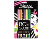 Sharpie 80's Glam Colors Ultra Fine Point Markers Pens