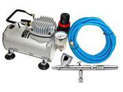 Iwata 4207 HP-CS .35mm Eclipse Airbrush Kit WithTankless Compressor