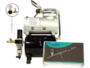 Iwata ECL4500 Airbrush Kit with Tank Compressor