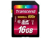 Transcend 16GB 16G SDHC 90MB/s Ultimate 600X UHS-I SD Class 10 Flash Card TS16GSDHC10U1 with OEM Multifunction Memory Card Protective Case