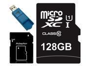Major OEM 128GB microSDXC UHS-I 70MB/s Class 10 128G microSD micro SD SDXC Flash Memory C10 Card fit Samsung Galaxy S5 SONY Z2 with USB 3.0 Card Reader
