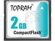 TOPRAM 2GB CF 2G CF Compact Flash CompactFlash Card