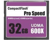 3C Pro 32GB CF 32G CompactFlash Card Extreme Speed 600X