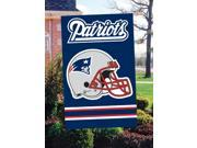 "New England Patriots 44""x28"" 2-sided Banner Flag"