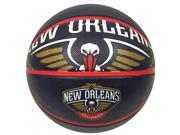 "New Orleans Pelicans Official NBA 29.5"" Basketball by Spalding"