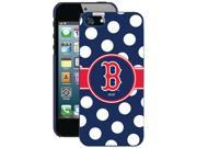 COVEROO 590-6690-BL-FBC iPhone(R) 5/5s Boston Red Sox Polka Dots Case