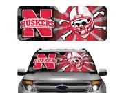 Nebraska Cornhuskers Official NCAA Auto Sun Shade by Team Promark 177428