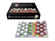 Indianapolis Colts Official NFL Checker Set by Rico Industries 120250
