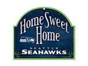 "Seattle Seahawks Official NFL 10""x11"" Wood Sign by Wincraft"