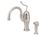 Danze D403221SS Antioch Stainless Steel Kitchen Faucet