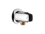 Grohe 28 484 000 Universal Wall Union with Handshower Holder (Chrome)
