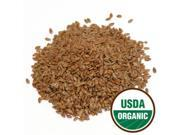 Organic Flax Seed 1 lb (453.6 Grams) by Starwest Botanicals