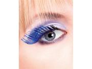 Light Blue Feather Eyelashes  Baci Magic Colors