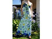 Floral Tube/Halter Maxi Long Dress