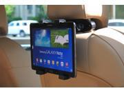 """Aleratec 250257 Universal Tablet Car Headrest Mount Holder for iPad, Galaxy Tab 2, Kindle Fire HD, other 7""""-10"""" Screen"""