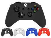 Silicone Case Cover Skin Cap Protector for Microsoft Xbox one Gaming Game Controller - Black