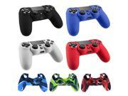 Bundle Mix Colors 7-in-1 Silicone Sleeve Cover Case for Sony Playstation PS4 Controller Protect - New