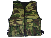 GXG Paintball Reversible Vest/Chest Protector - Camo/Black