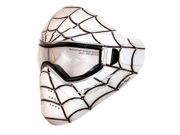 Save Phace Tagged Series Paintball Mask Spiderman - Spidey White