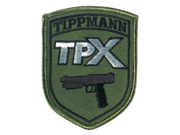 Tippmann Paintball TPX Patch with Velcro