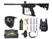 Spyder MR1 Paintball Marker Gun 3Skull GXG Vest Sniper Set - Black