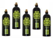 3Skull Paintball 20oz Co2 Complete Tanks with Pin Valve - 5 Pack