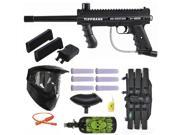 Tippmann 98 Custom PS Paintball Gun w/ Mag Fed Adapter 3Skull N2 Mega Set