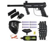Tippmann 98 Custom PS Paintball Gun w/ Mag Fed Adapter 3Skull Mega Set