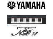 Yamaha NP11 - 61 Key Piaggero Digital Piano Digital Piano