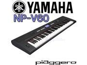 Yamaha NPV60 NP-V60 76-Key Mid-Level Piaggero Ultra-Portable Digital Piano