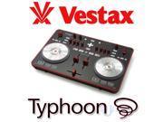 Vestax Typhoon Digital DJ Controller Scratch+Virtual DJ