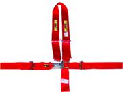 "RCI 9410D Black 2"" 5 Point Complete Junior Belt Set Latch"