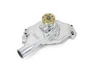 Weiand 9212P Action +Plus&#59; Water Pump&#59; Polished&#59; Aluminum&#59; Twisted Short Style&#59; Not For Competition