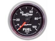 Auto Meter Sport-Comp II Electric Fuel Pressure Gauge