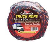 Keeper 07110 CA Truck Rope 3/8in x 50ft Roll