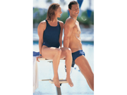 Speedo Solid Polyester Female Youth Black 26
