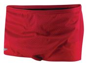 Speedo Solid Poly Mesh Brief Male Red 38