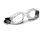 Aqua Sphere Kaiman Clear Lens Transparent Frame Swim Goggles