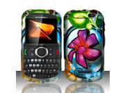 Motorola Clutch i475 Paradise Flowers Design Snap-On Hard Case